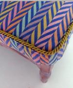 tapicerowany podnóżek