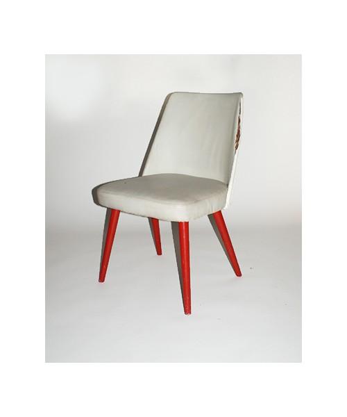"""krzesło tapicerowane """"muszelka"""""""