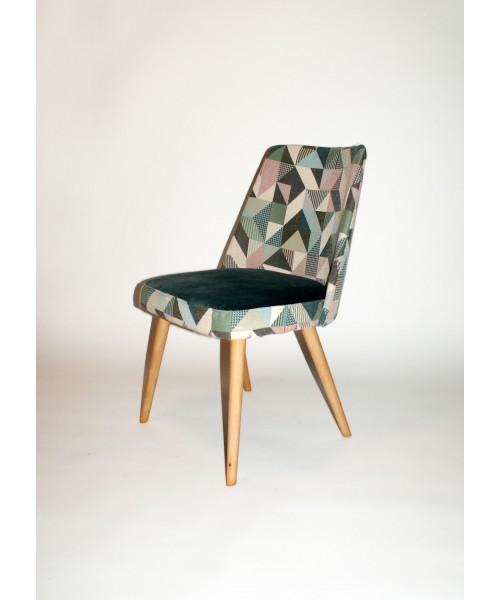 krzesło muszelka lata 60./70.